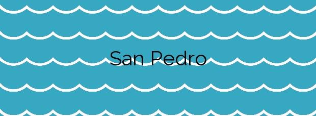 Información de la Playa San Pedro en Barreiros