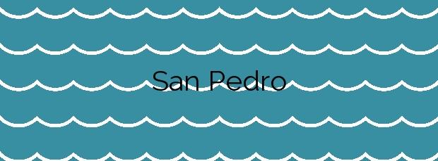 Información de la Playa San Pedro en Cabana de Bergantiños
