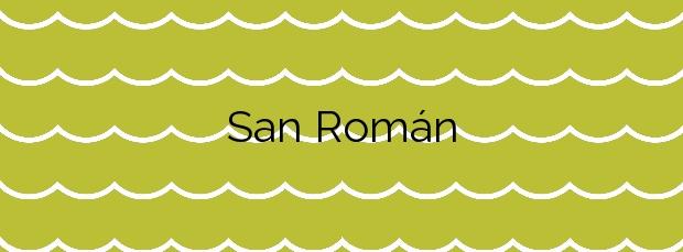 Información de la Playa San Román en O Vicedo