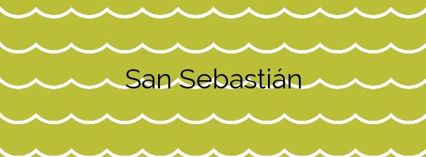 Información de la Playa San Sebastián en San Sebastián de la Gomera