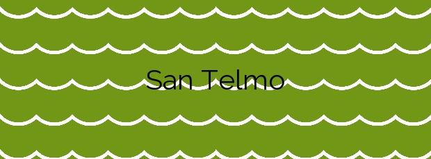 Información de la Playa San Telmo en Almería