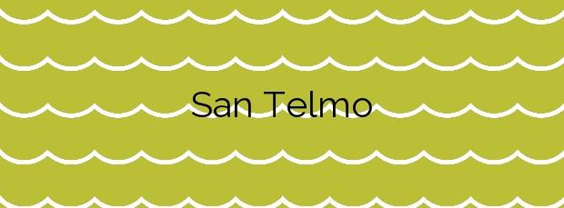 Información de la Playa San Telmo en Puerto de la Cruz