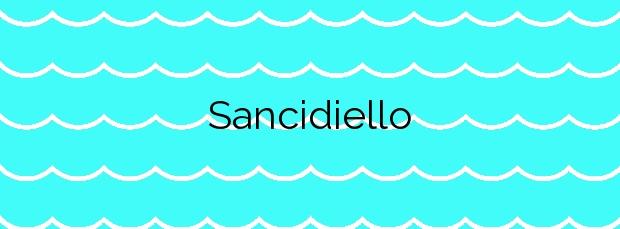 Información de la Playa Sancidiello en Cudillero