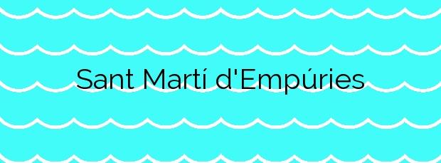 Información de la Playa Sant Martí d'Empúries en L'Escala