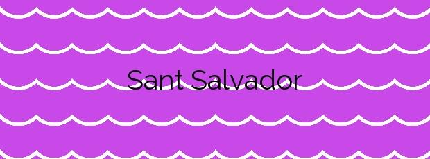 Información de la Playa Sant Salvador en El Vendrell