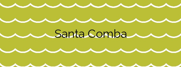Información de la Playa Santa Comba en Ferrol