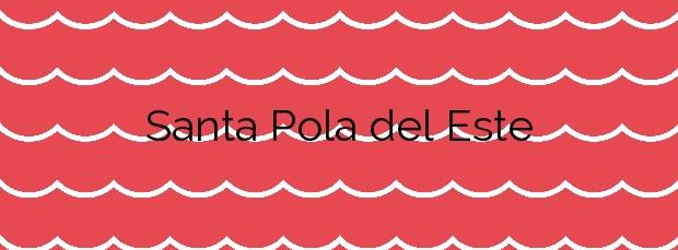 Información de la Playa Santa Pola del Este en Santa Pola