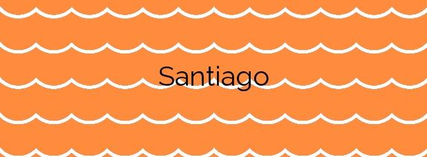 Información de la Playa Santiago en Zumaia