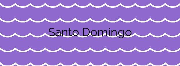 Información de la Playa Santo Domingo en La Guancha