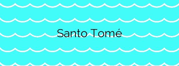 Información de la Playa Santo Tomé en Cambados