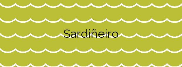 Información de la Playa Sardiñeiro en Fisterra