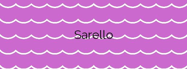 Información de la Playa Sarello en Tapia de Casariego