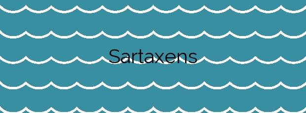 Información de la Playa Sartaxens en Bueu