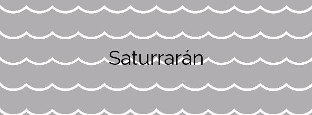 Información de la Playa Saturrarán en Mutriku