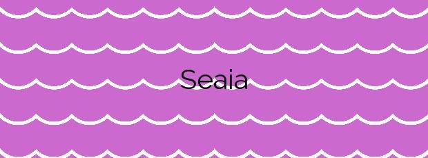 Información de la Playa Seaia en Malpica de Bergantiños