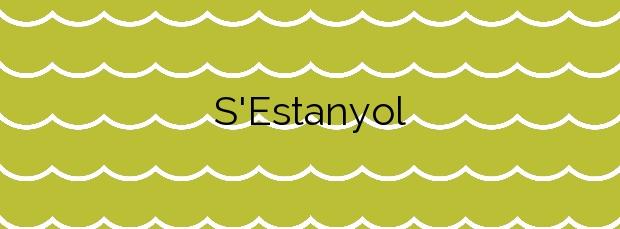 Información de la Playa S'Estanyol en Sant Josep de sa Talaia