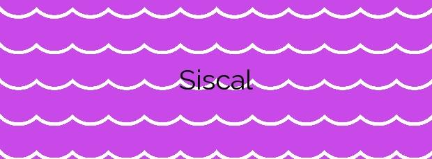 Información de la Playa Siscal en Lorca