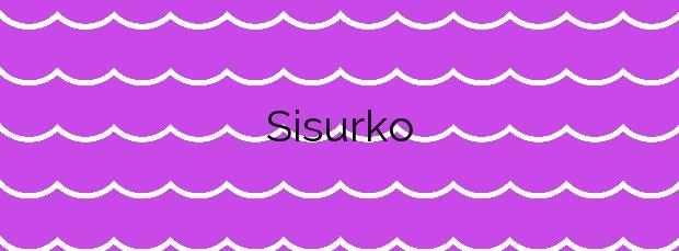Información de la Playa Sisurko en Hondarribia