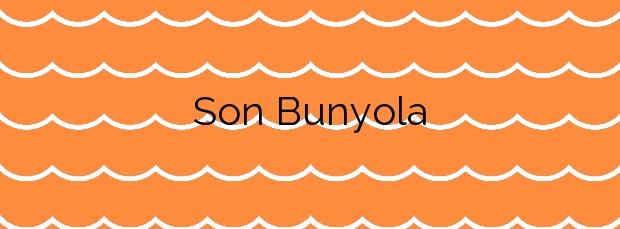 Información de la Playa Son Bunyola en Banyalbufar