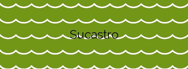 Información de la Playa Sucastro en Xove