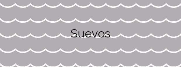 Información de la Playa Suevos en Arteixo