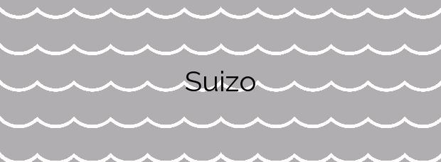 Información de la Playa Suizo en Sant Carles de la Ràpita