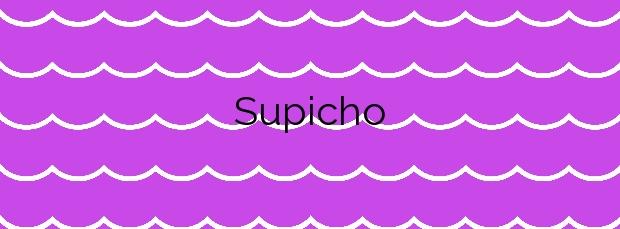 Información de la Playa Supicho en Boiro