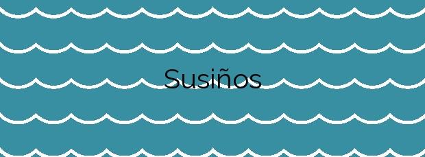 Información de la Playa Susiños en Carnota