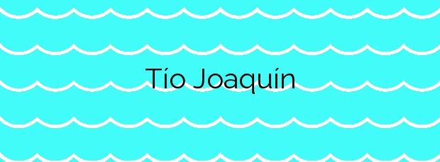 Información de la Playa Tío Joaquín en Teguise