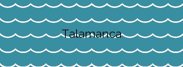 Información de la Playa Talamanca en Eivissa