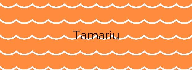 Información de la Playa Tamariu en Palafrugell