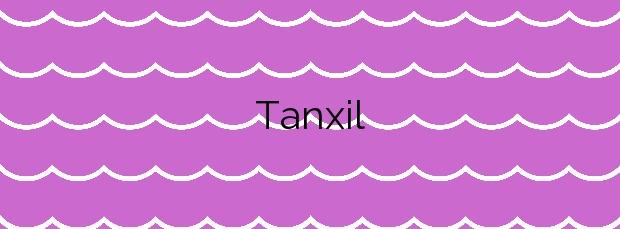 Información de la Playa Tanxil en Rianxo