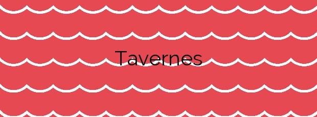 Información de la Playa Tavernes en Tavernes de la Valldigna