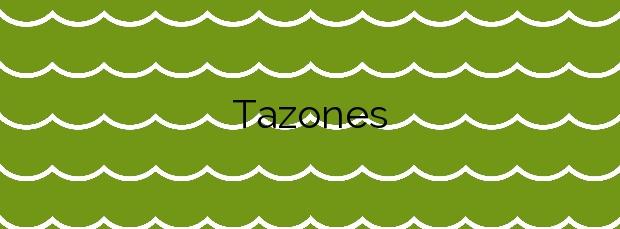 Información de la Playa Tazones en Villaviciosa