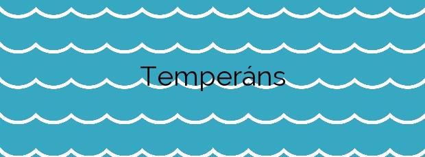 Información de la Playa Temperáns en Cangas