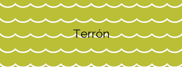 Información de la Playa Terrón en Vilanova de Arousa