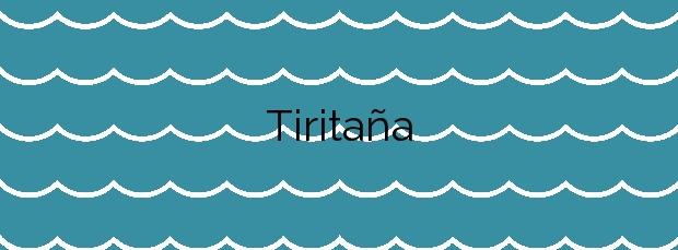Información de la Playa Tiritaña en Mogán