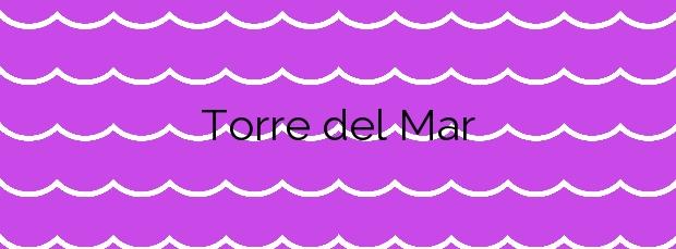 Información de la Playa Torre del Mar en Vélez-Málaga