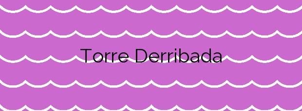 Información de la Playa Torre Derribada en San Pedro del Pinatar