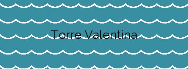 Información de la Playa Torre Valentina en Calonge