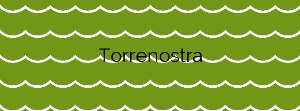 Información de la Playa Torrenostra en Torreblanca