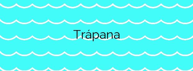 Información de la Playa Trápana en Melilla