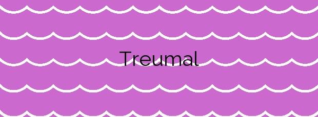 Información de la Playa Treumal en Blanes