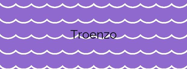 Información de la Playa Troenzo en Llanes