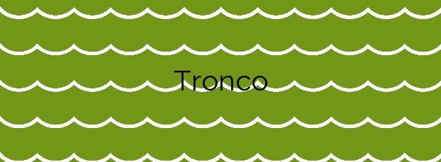 Información de la Playa Tronco en Rianxo