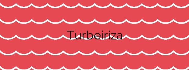 Información de la Playa Turbeiriza en Valdés