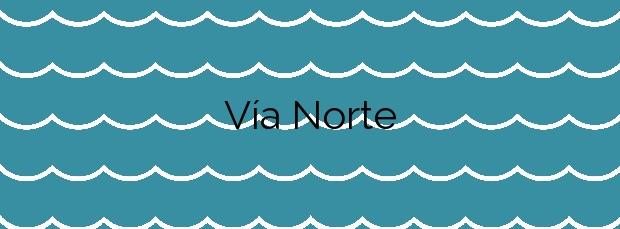 Información de la Playa Vía Norte en O Grove