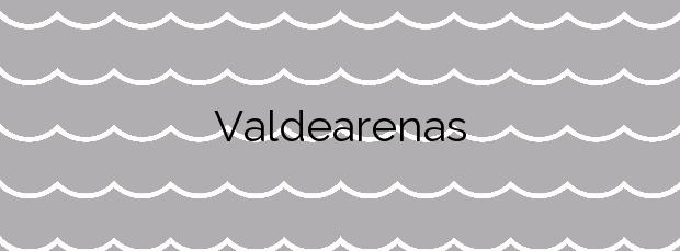 Información de la Playa Valdearenas en Piélagos