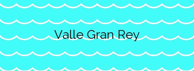 Información de la Playa Valle Gran Rey en Valle Gran Rey