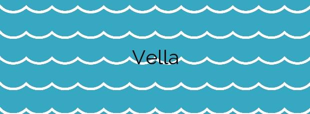 Información de la Playa Vella en Redondela